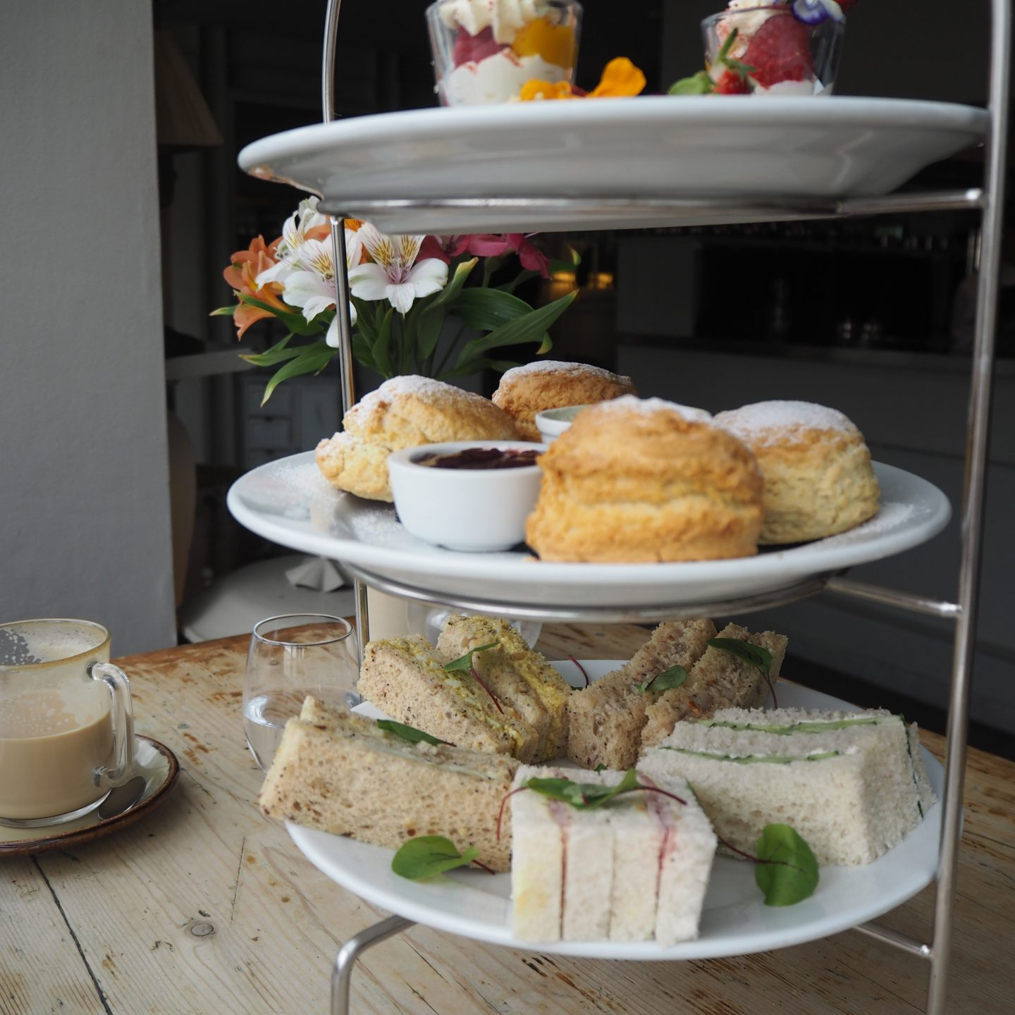 Afternoon Tea at The Folly Oxford